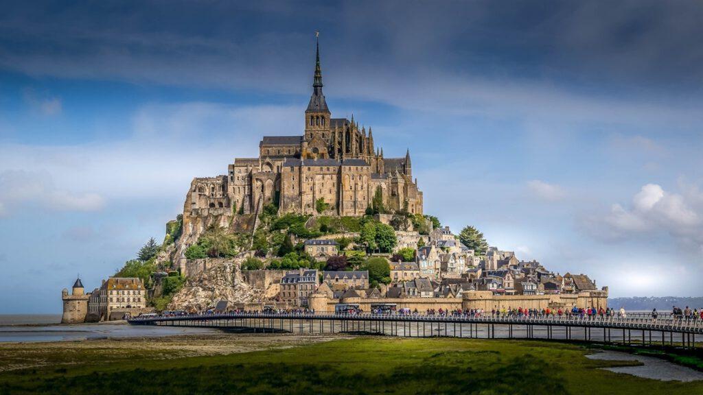Mont-Saint-Michel-fortress-Normandy-France
